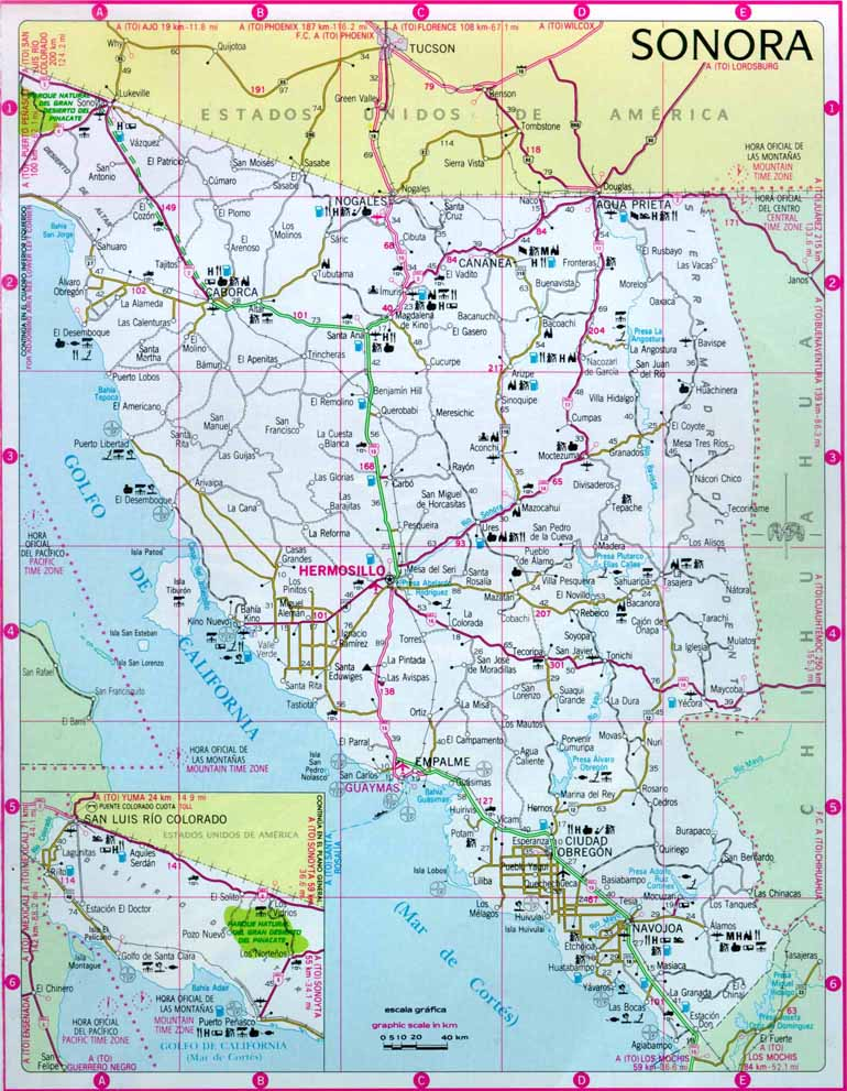 map of northern arizona with Hermosillo Sonora Mexico Map on Az Concho furthermore Sonoran Desert besides Alberta Canada Most Beautiful Places additionally Barringer Meteor Crater as well 21757 Weekend Stargazing Scorpius Constellation.